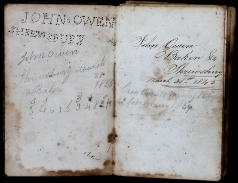 John Owen: Baker's Notebook - 1