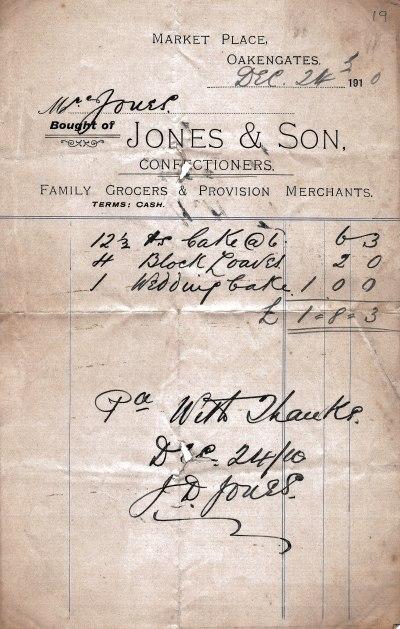 Jones Bills/19