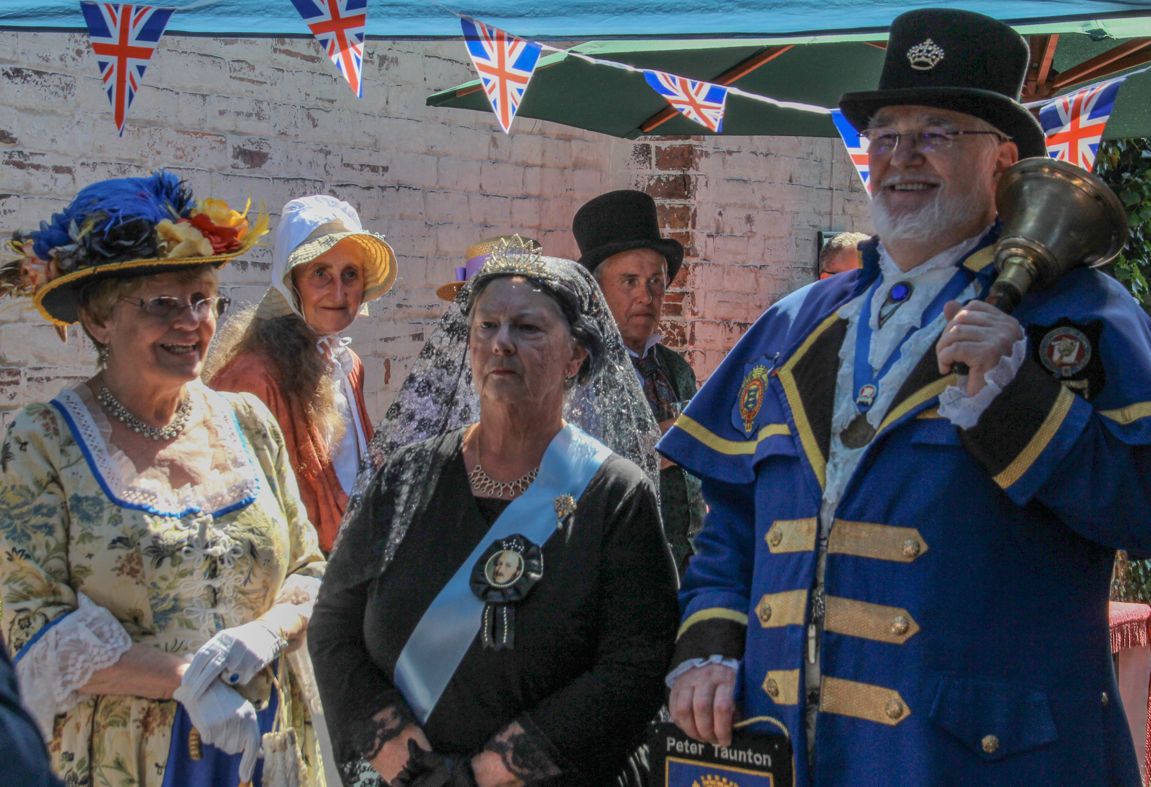 Queen Victoria and Town Crier